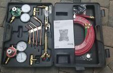 Costway Tl27394 Gas Welding Cutting Kit Oxy Acetylene Oxygen Torch Brazing