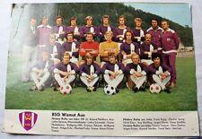 Altes großes Fußballfoto Wismiut Aue ca.1977