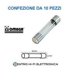 "20 a 6.3 mm x 32 mm FUSIBILE 1 KA 1//4/"" x 1-1//4/"" 250 V CARTUCCIA"