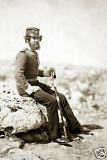 Lieutenant Gayner British Army 47th Regiment Crimea 1855 6x4 Inch Reprint Photo
