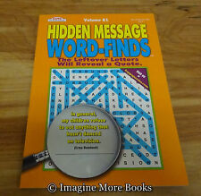 NEW Hidden Message Word-Finds Vol 81 ~ Kappa Word Search ~ 79 Puzzles per Vol
