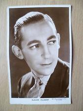 Vintage Film Star Real Photo Postcard- CLAUDE HULBERT, British Intl Pictures,114