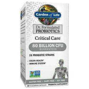 Garden of Life Dr. Formulated Probiotics 80 Billion CFU - 30 Capsules Exp02/2023