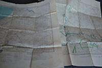 2 cartes anciennes des colonies de L'A.0.F Sénégal Dakar / Thiès S.E