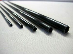 Tubo fibra carbonio  lunghezza da mm 825 a 1500  vari diametri telescopici