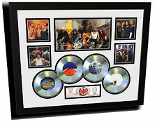 RED HOT CHILLI PEPPERS SIGNED LIMITED EDITION FRAMED MEMORABILIA