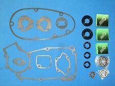 Lagersatz für Simson S50 Dichtsatz Kugellager  Wellendichtringe blau