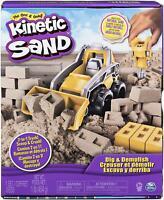 Kinetic Sand 6044178 Dig and Demolish Truck Playset with 453g of Kinetic Sand