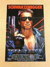 New listing The Terminator, 1984 Original Theater Lobby Poster, Arnold Schwarzenegger