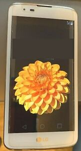 LG K7 LGMS330 Smartphone (White 8GB) MetroPCS Excellent condition