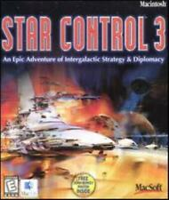 Star Control 3 w/ Manual MAC CD battle ship armada conquer alien planets game!