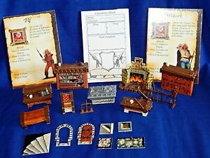 HEROQUEST GAME FURNITURE SPARES REPLACEMENT PIECES - Please choose:-