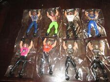 8 WWE LEGENDS Wall Walkers Hart Flair Taker Warrior Savage Sting Angle WWF HBK