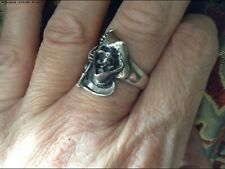 More details for clarecraft terry pratchett discworld - silver death ring dwring. grim reaper man