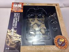 Kaiyodo SCI-FI Revoltech Series No.047 Batman Batmobile Tumbler Cannon Figure