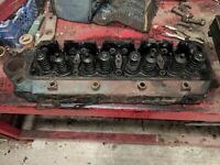 Cylindre Tête - Enlevé De FORDSON Major 4D Engine