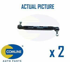 2 x NEW COMLINE FRONT DROP LINK ANTI ROLL BAR PAIR OE QUALITY CSL7178