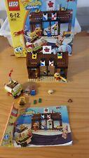 Lego Spongebob 3833 Krusty Krab Adventures Box/instructions