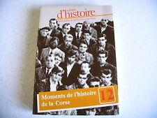 CAHIERS D' HISTOIRE INSTITUT RECHERCHES MARXISTES moments histoire corse n° 12