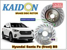 "Hyundai Santa Fe disc rotor KAIDON (front) type ""BS"" / ""RS"" spec"