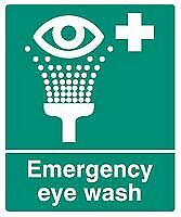 SIGN EMERGENCY EYE WASH SAV Personal Protection & Site Safety Signs - GR75587