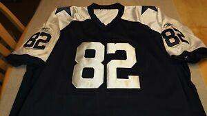 NWOT NFL Dallas Cowboys Reebok On Field Throwback Jersey Jason Witten 82 Size 56