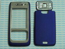 Cover case vetro per Nokia E65 E 65+tastiera+copribatteria blu copri batteria