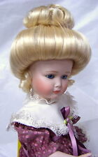 """Monique Doll Wig """"Gibson"""" Size 8-9 Color Pale Blonde - Classic Doll Style!"""