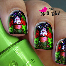 Nail Decals Nail Transfers Nail Wraps Art 20 Alice in Wonderland The Mad Hatter