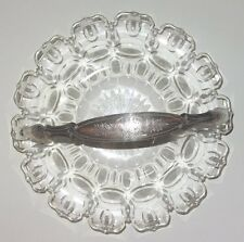 COUPE A FRUITS CRISTAL & ARGENT MASSIF JM VAN KEMPEN SOLID STERLING SILVER BOWL