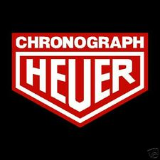 Heuer Chronograph Stickers Rally GP Old Vintage