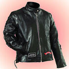 LADIES Leather Motorcycle Jacket--Ladies Size Small--FREE Cap with Purchase