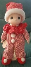 """Precious Moments 16"""" Doll Little Mistletoe with stand"""