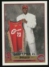 2003-04 Topps #221 LeBron James Cleveland Cavaliers RC Rookie