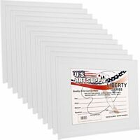 US Art Supply Quality 8 X 10 Panels 12  for and This Is a Full Case Pack of