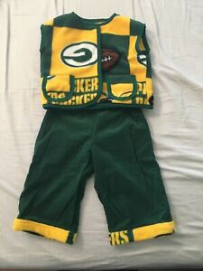 Green Bay Packers Kids/Toddler Pants & Vest Combo 18-2T