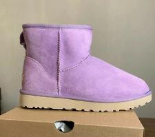 UGG CLASSIC MINI II 1016222 Purple Zen Woman's Boots 100% AUTHENTIC NEW Size 7
