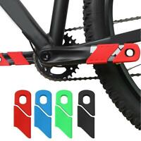4PCS Silicone Bike Crank Protection Sleeve Arm Boots Protector Bicycle Accessory