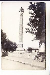 TURKEY ANGORA ANKARA ROMAN COLUMN REAL PHOTO 1919 year