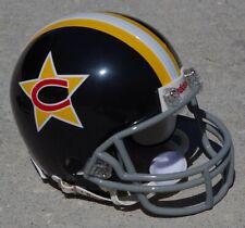 Detroit Wheels WFL Riddell Custom Mini Helmet