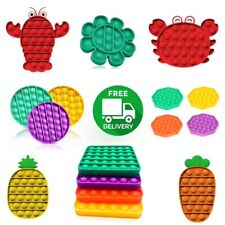 Push Bubble Pop it Sensory Fidget Toy Autism Anxiety Stress Relief Ships From US