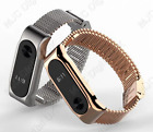 Exclusive Stainless Strap Bracelet for Xiaomi Mi Band 2 Replacement HQ Gold S1
