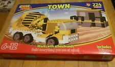 NEW BEST LOCK CONSTRUCTION TOWN 224 PIECES WORKS WITH OTHER BRANDS kids Blocks