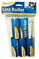 10 LINT ROLLER SET PET HAIR DUST FLUFF DUST REMOVER AND REFILLS 2x5 PACK