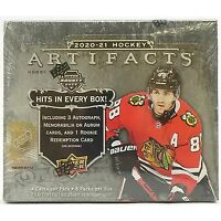 2020-21 upper deck artifacts hockey hobby box Break #4 Divisions