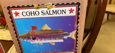 New In Box Decorative Fish/Salmon Mailbox With Great Appeal Rust Resistant Steel