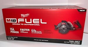 Milwaukee 2830-20 M18 FUEL Rear Handle 7-1/4 in Circular Saw Tool Only Brand New
