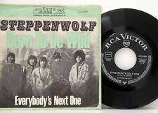 """Steppenwolf         Born to be wild         7""""        VG +  # A"""