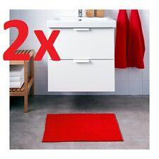 IKEA BADAREN Bath Mat Red 40 X 60cm