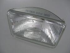 Two H4651 Halogen Headlight Headlamp Rectangular High Beam Sylvania Set of 2